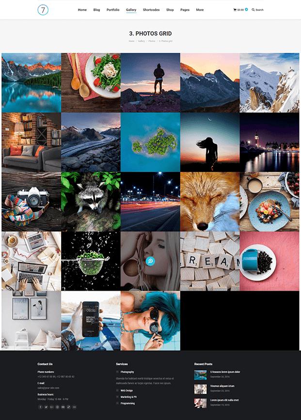 Photos - Best WordPress Template