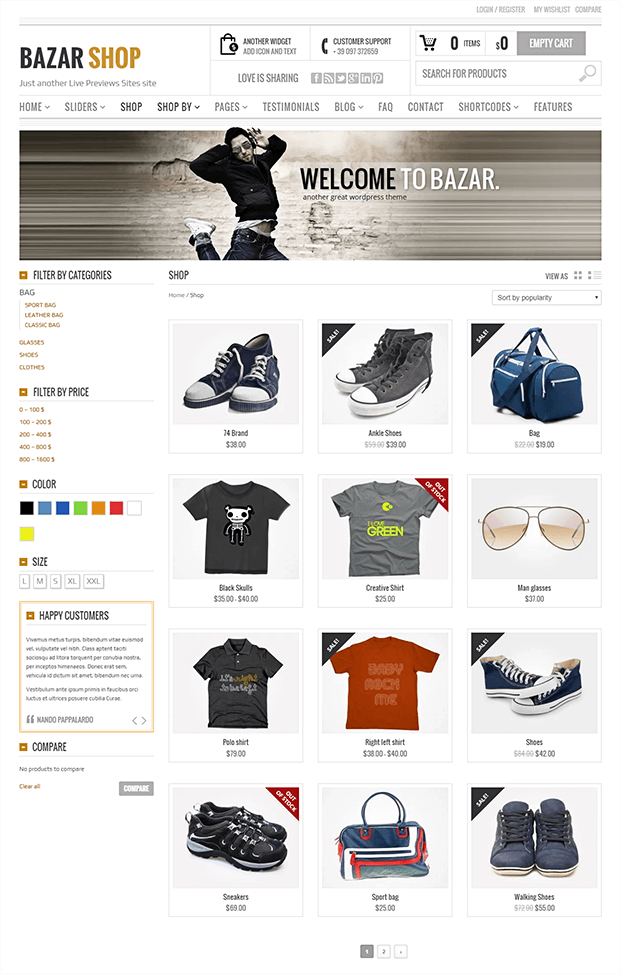 Shop - Best eCommerce Theme For WordPress