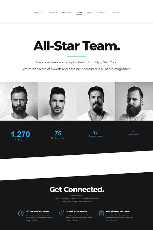 Team - WordPress Professional Theme