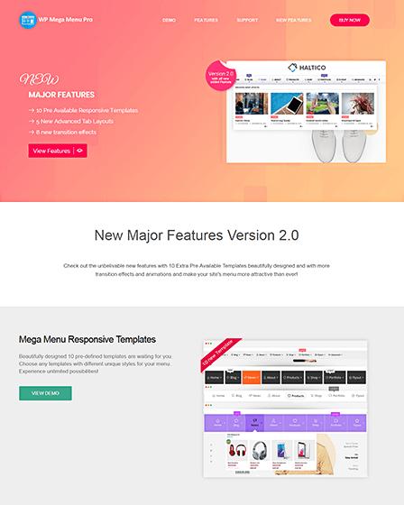 Mega Menu Pro - Responsive Menu Plugin For WordPress