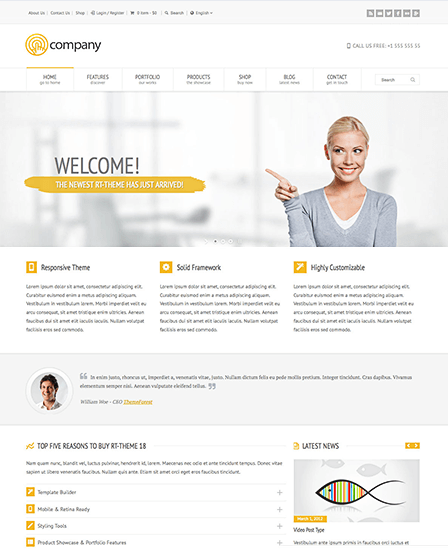 product-showcase-wordpress-theme