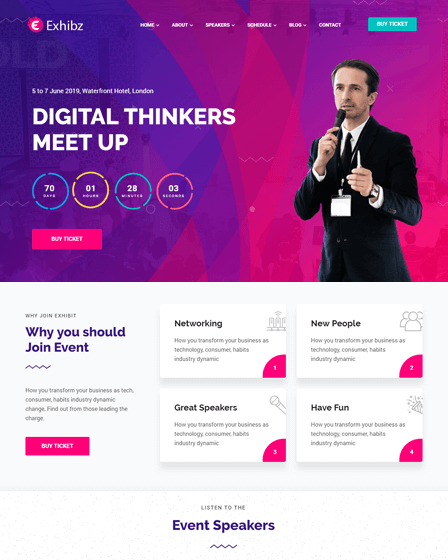 exhibz-event-and-conference-wordpress-theme
