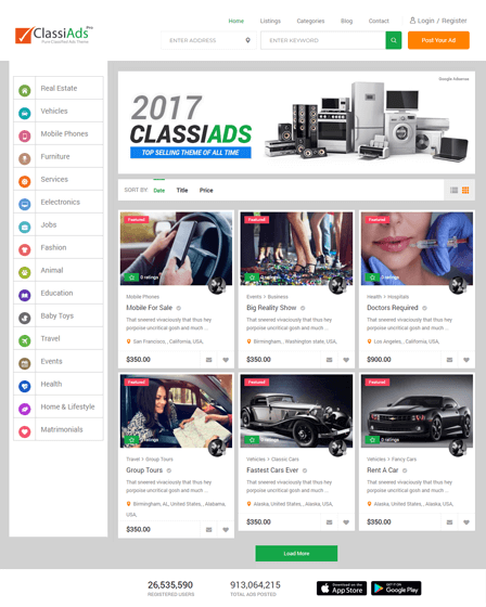 advertisement-wordpress-theme