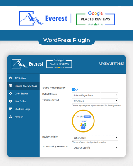 feature-image-everest- google-places-reviews-wordpress-plugin