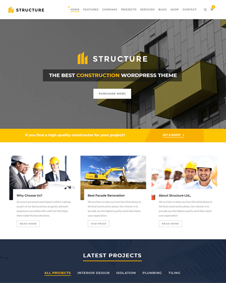 best-construction-wordpress-theme