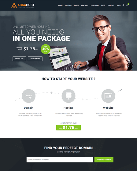 Best WordPress Hosting Theme
