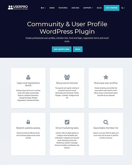 Community WordPress Plugin