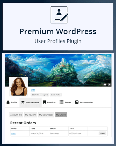 WordPress User Profile Plugin