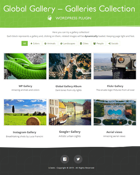 WordPress Responsive Gallery Plugin