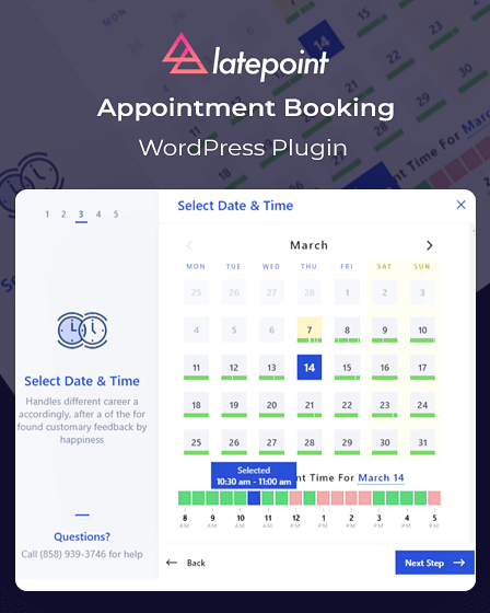 LatePoint - Appointment Booking WordPress Plugin