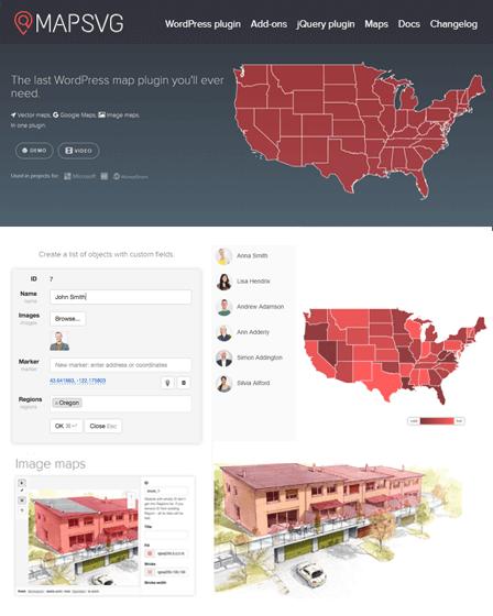 MapSVG WordPress Mapping Plugin