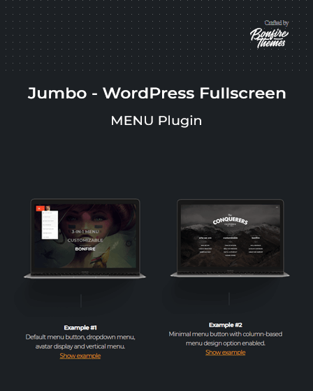 WordPress Fullscreen Menu Plugin