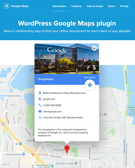 GOOGLE MAPS – ADVANCED WORDPRESS MAP PLUGIN