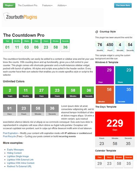 Countdown WordPress Plugin