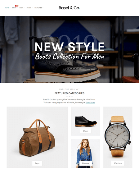 WordPress Online Shop Theme