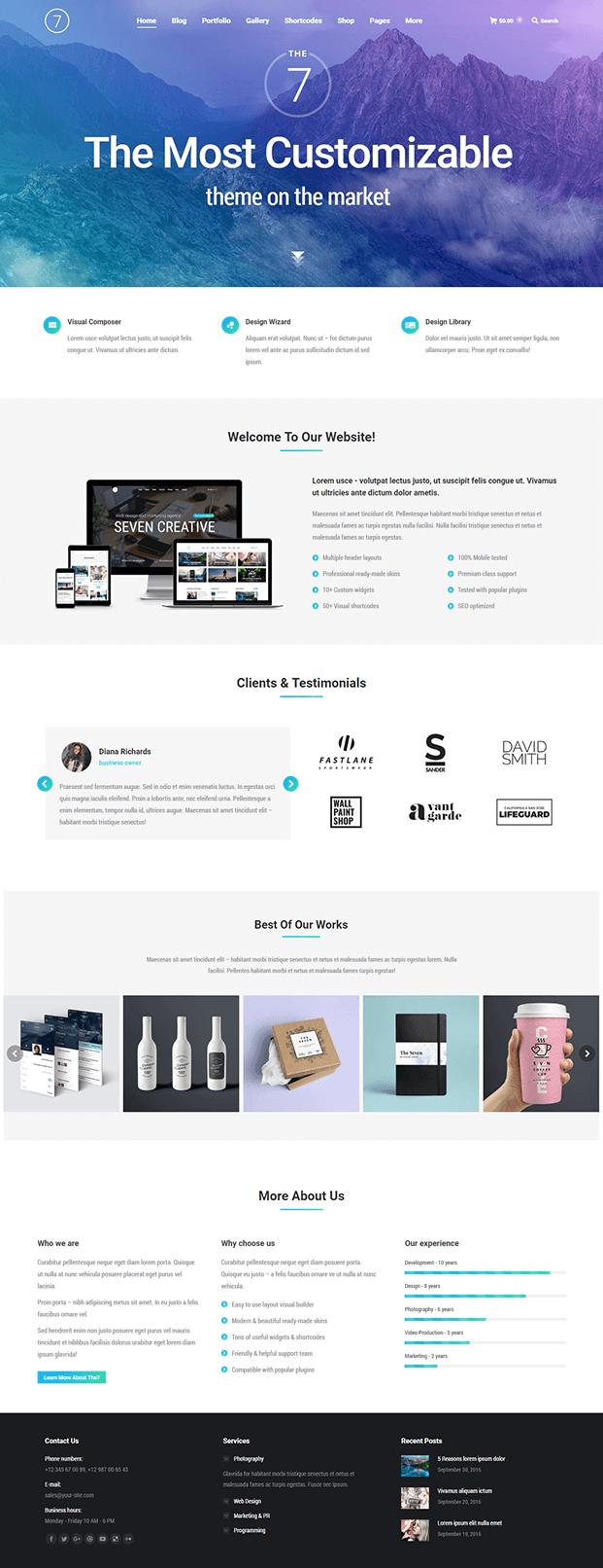 Home - Best WordPress Template