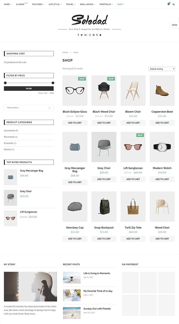 Shop - WordPress Theme Magazine