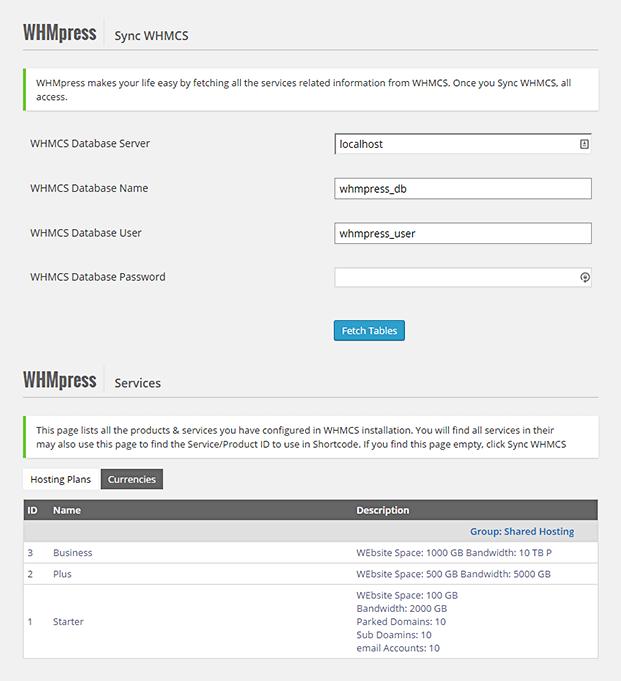 Sync WHMCS-WHMCS WordPress Integration Plugin
