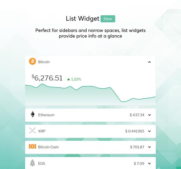 List Widgets