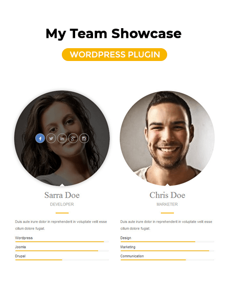 Team Members WordPress Plugin