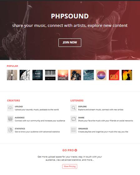 Music Sharing Software