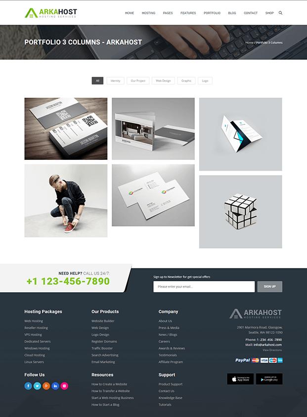 Portfolio - Best WordPress Hosting Theme