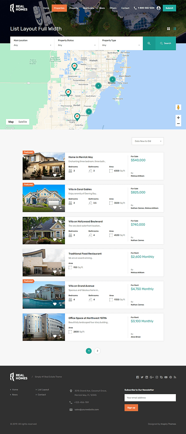 Property - WP Real Estate Theme