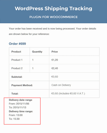 WordPress Shipping Tracking Plugin