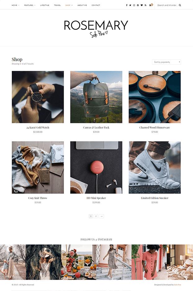 Shop-Page