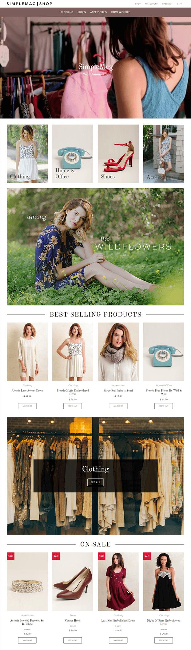 SimpleMag Shop - WordPress Online Magazine Theme