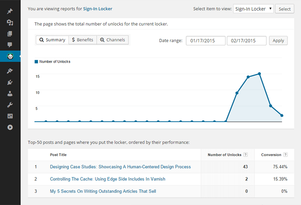 Opt-in Form WordPress Plugin - Stats And Reports