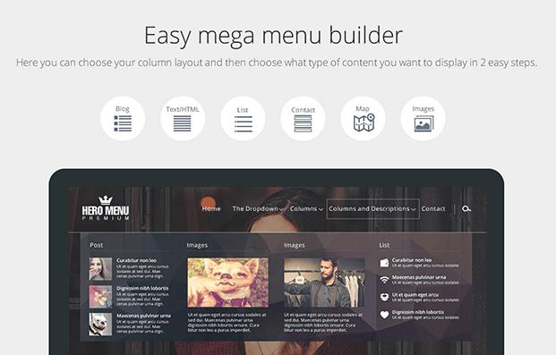 Mega Menu Builder - Custom WordPress Menu Plugin