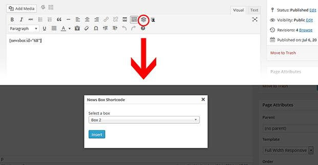 Shortcodes - WordPress Content Slider Plugin