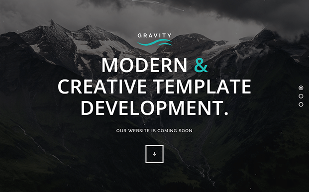 Demo (2) - Landing Page - Coming Soon WP Theme