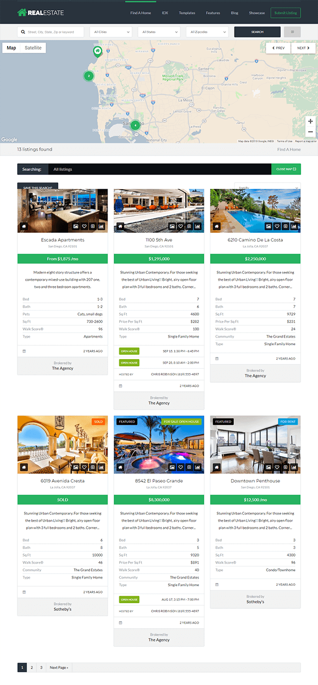 Find A Home - Real Estate WP Theme