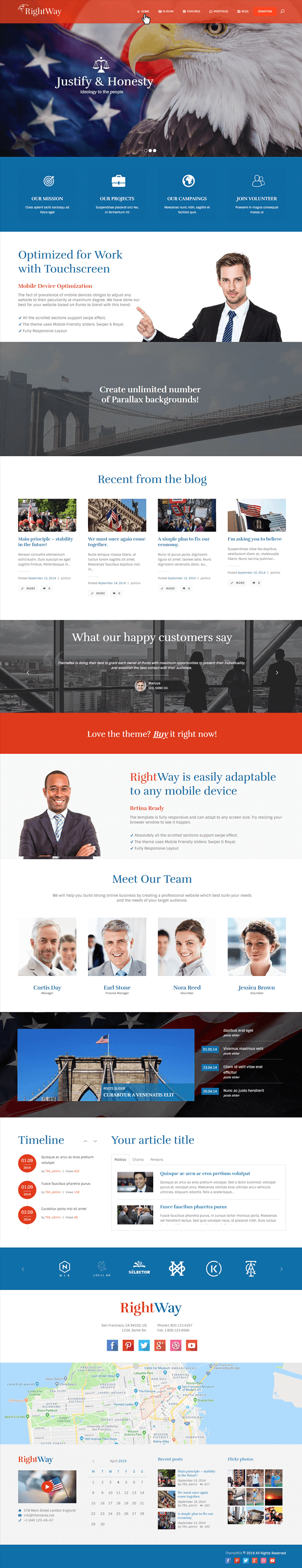 Home - Politics WordPress Theme