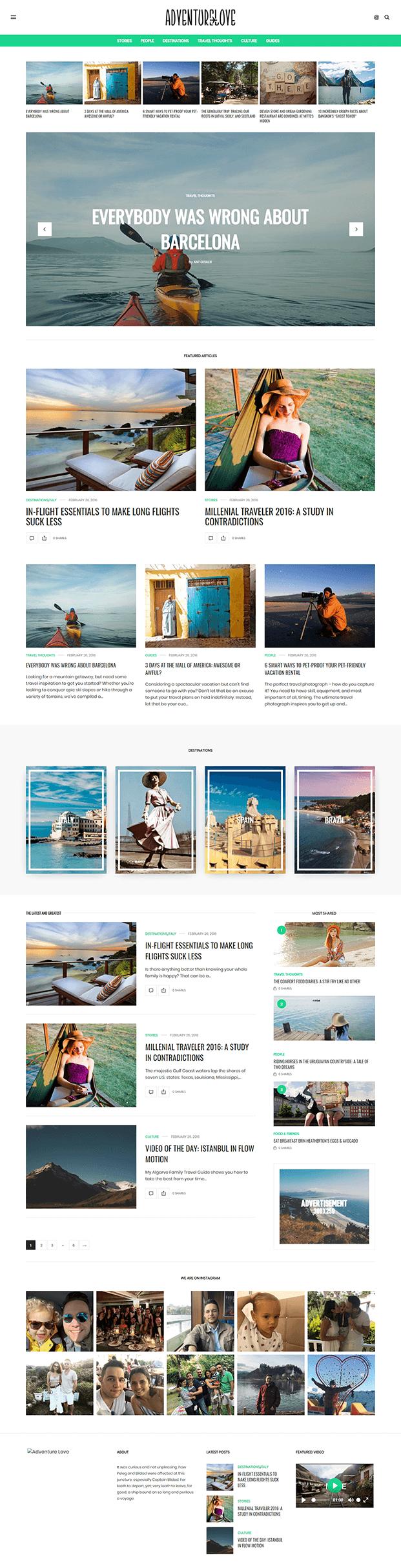 Home - Best WordPress Magazine Theme