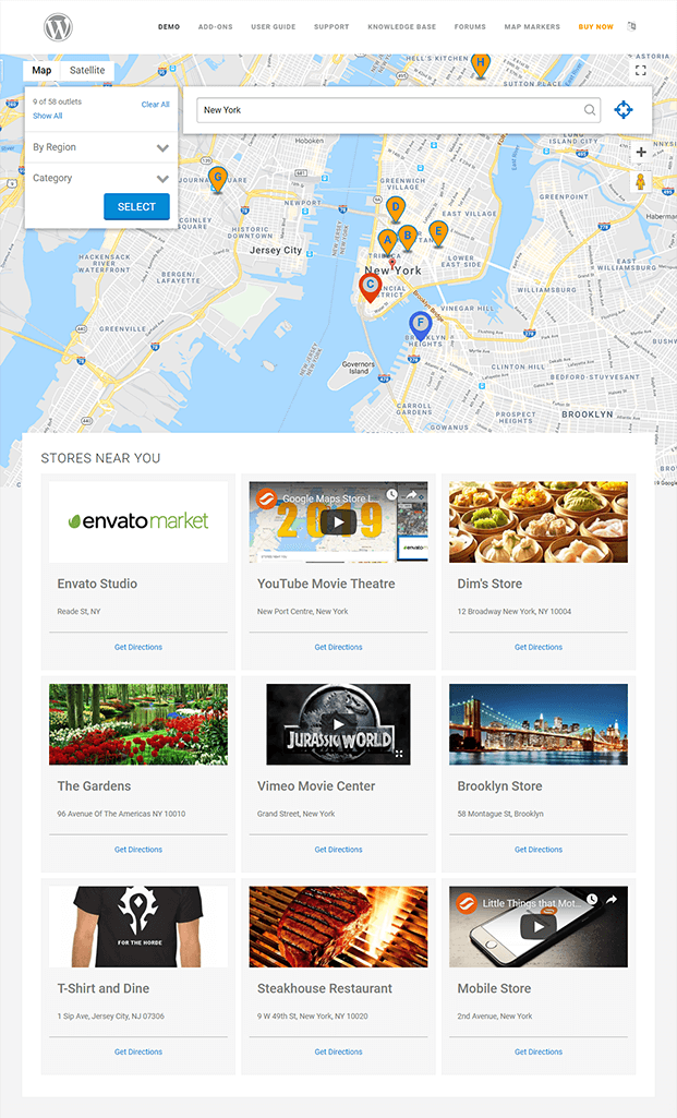 Home - WordPress Store Locator Plugin