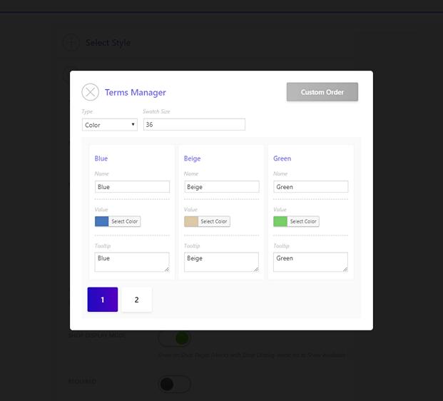 Options Manager - WooCommerce WP Plugin