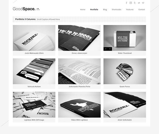 Portfolio - Minimal WordPress Portfolio Theme