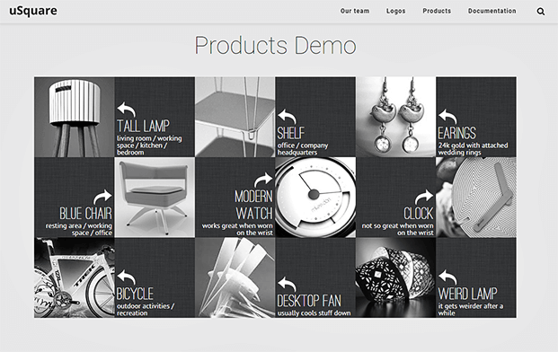 Products- Grid WordPress Plugin