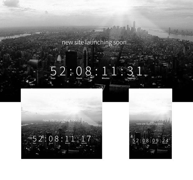 Soon Preview 2 - Countdown Plugin WordPress