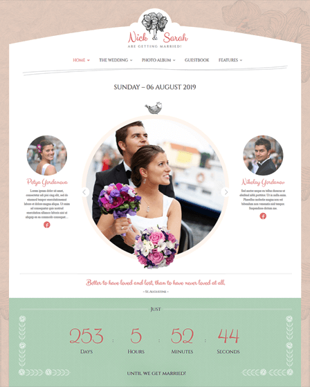 WP Wedding Theme