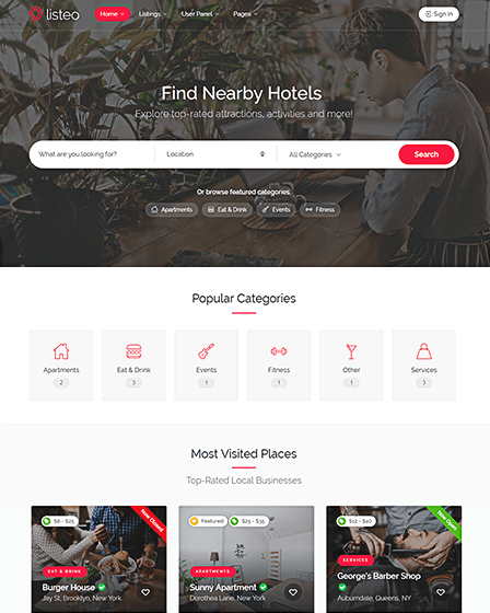 WordPress Best Directory Theme