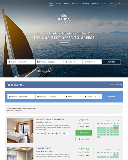 Hotel Booking CMS