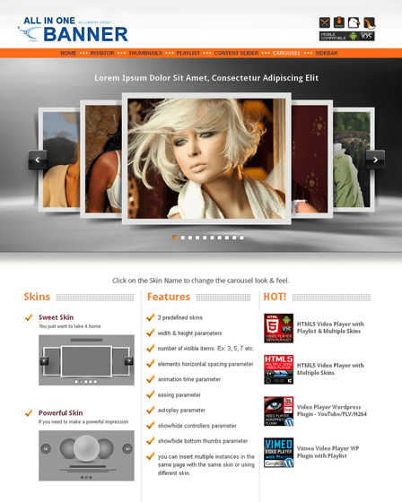 WordPress Responsive Slider Plugin