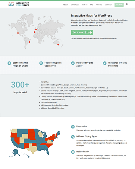 Maps WordPress Plugin