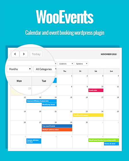 WordPress Event Booking Plugin