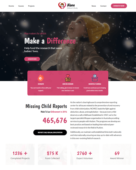 WordPress NGO Theme