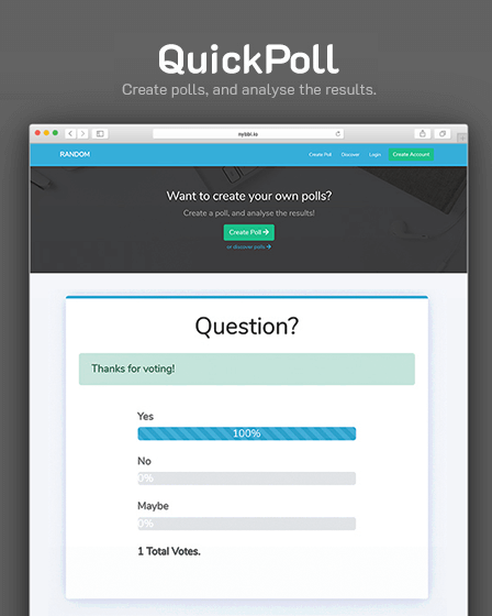 Poll PHP Script